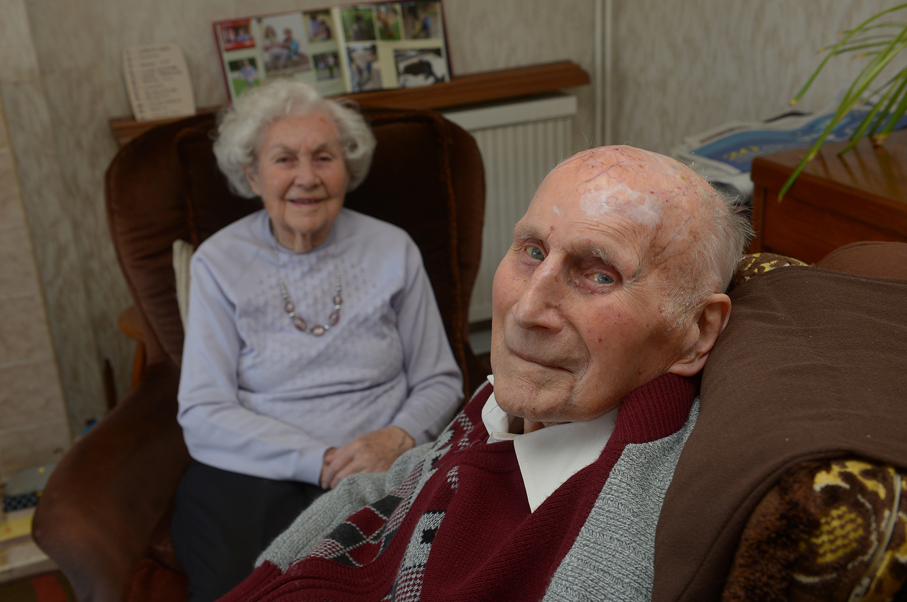 Bet and Ernie Lane.Ernie Lane, Rayleigh, is turning 100 years old on May 2nd..