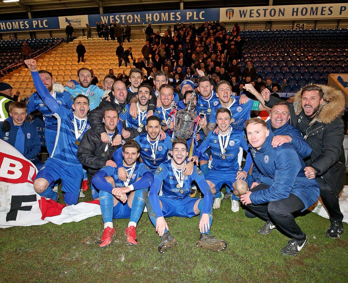 Essex Senior Cup holders - Billericay Town Picture: NICKY HAYES
