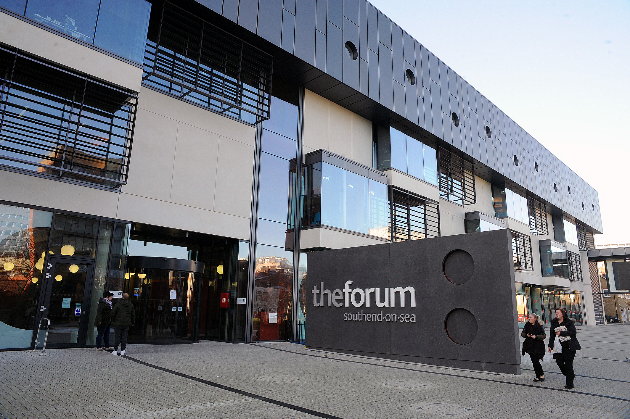Forum closed after stabbing