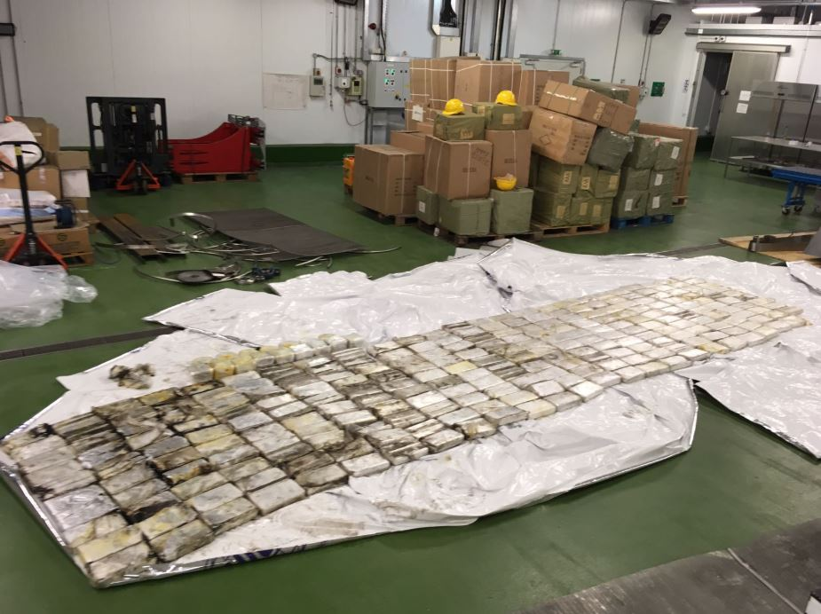 Drugs worth £22 million uncovered after raid at port