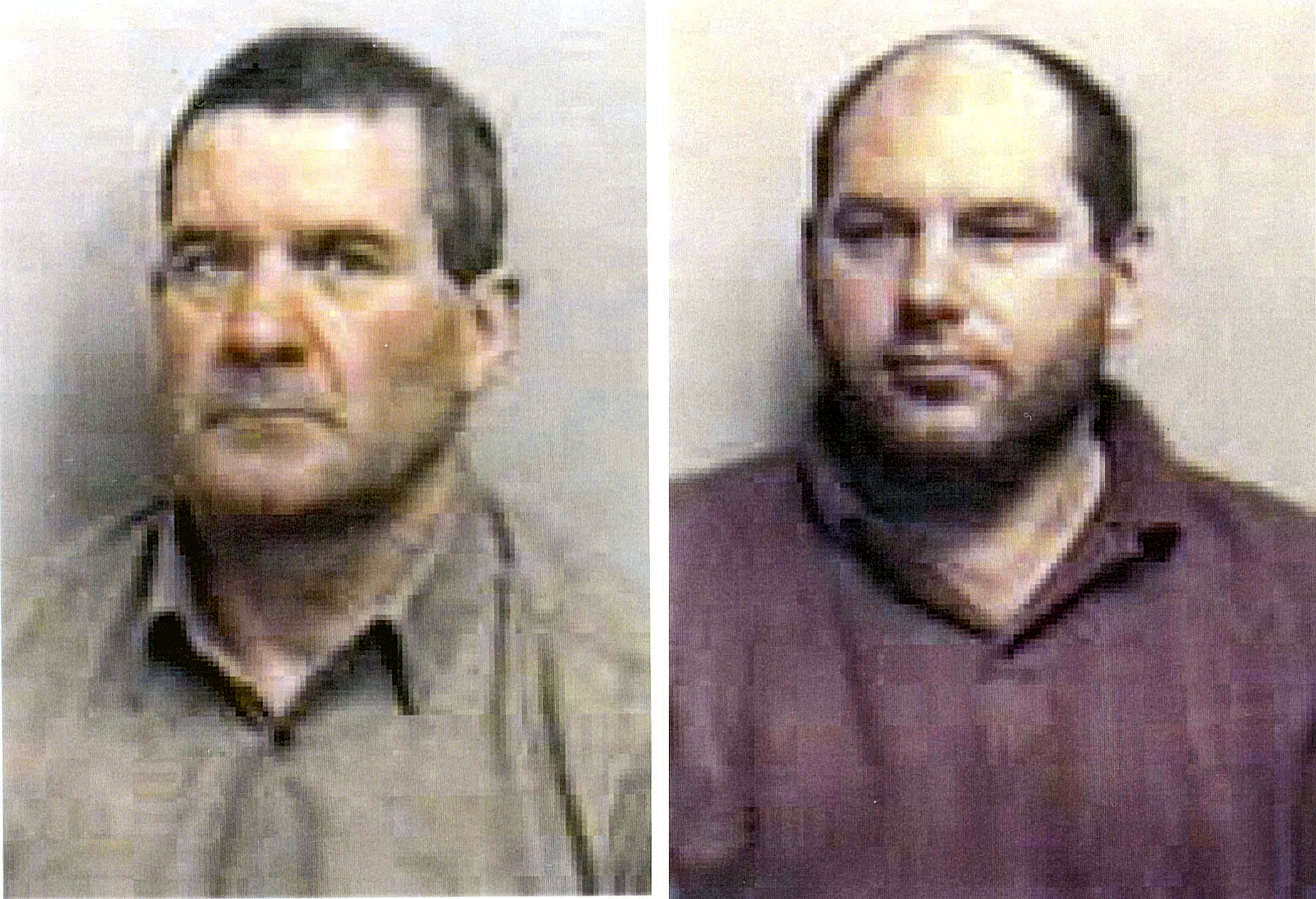 Convicted - Michael Steele and Jack Whomes were jailed in 1998