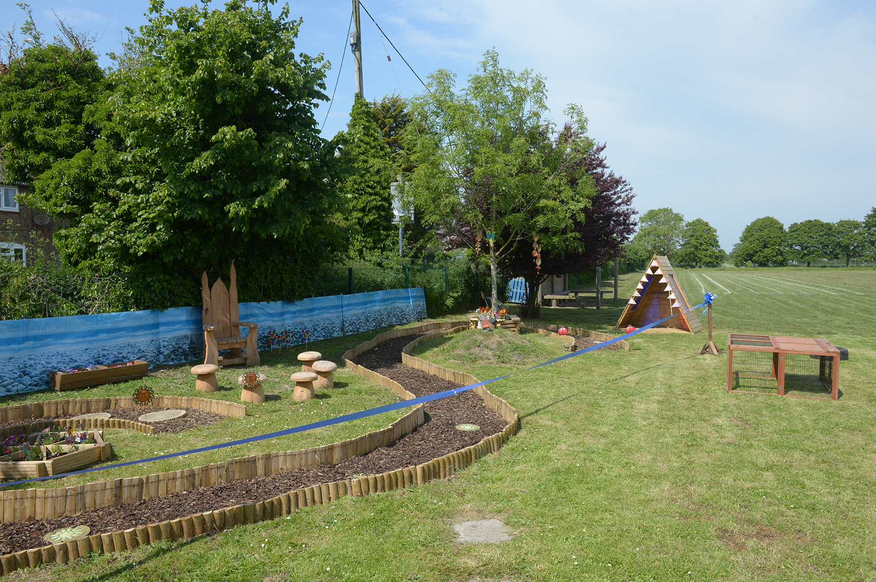 Stambridge Primary School, Stambridge Rd, Rochford.Opening the school's new sensory garden..