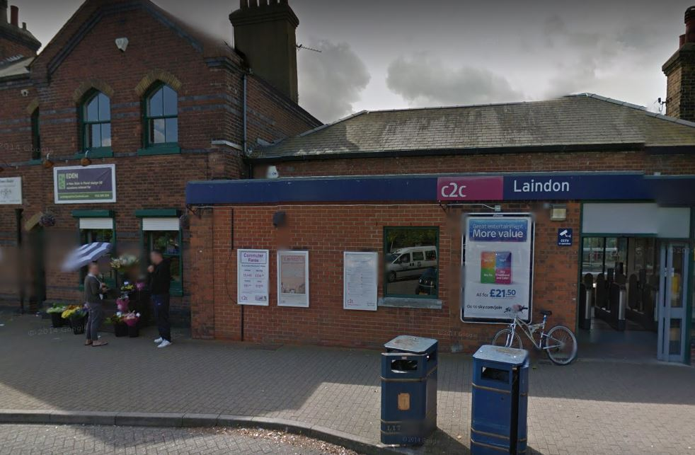 Laindon train station