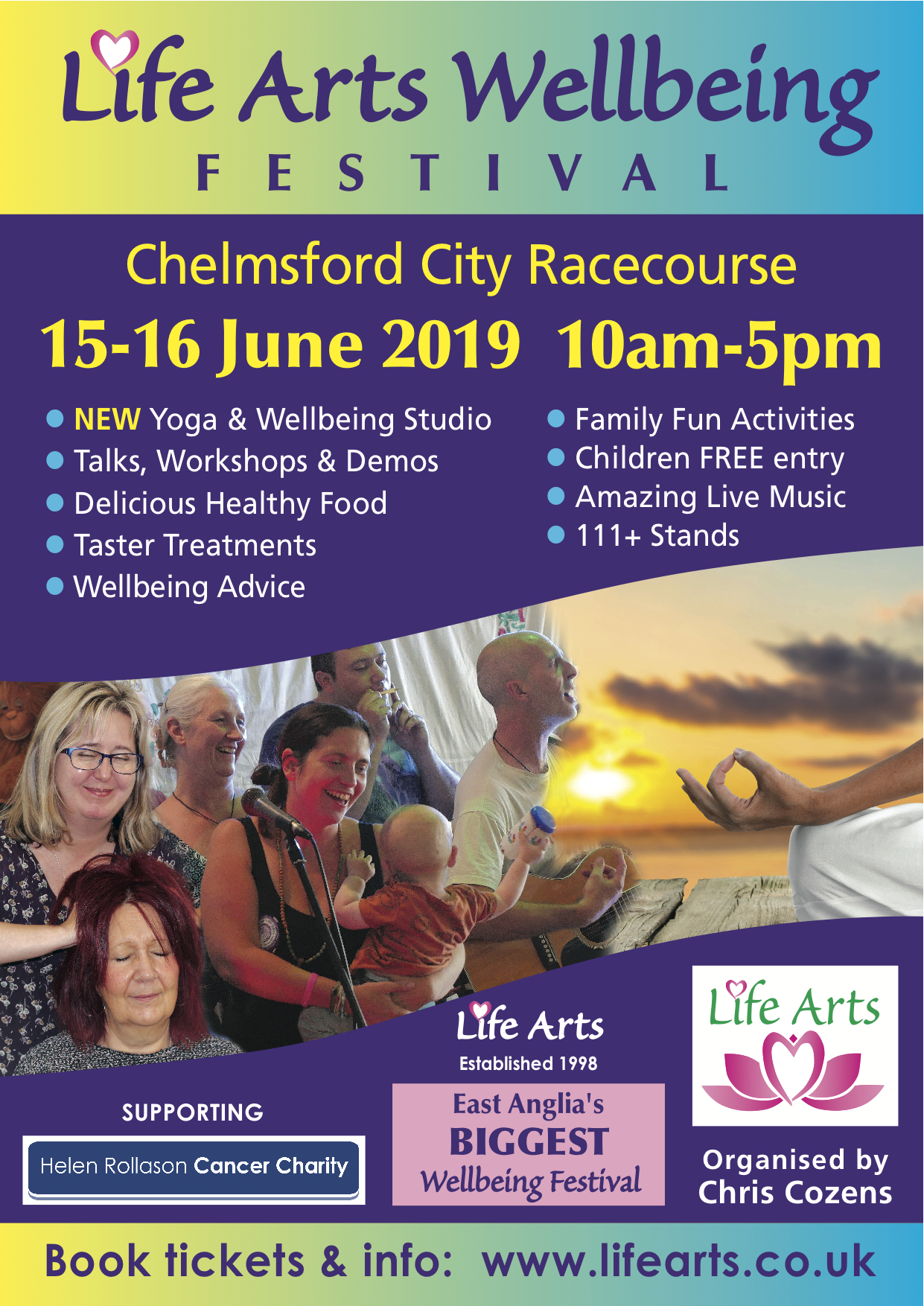 Chelmsford Life Arts Wellbeing Festival 2019