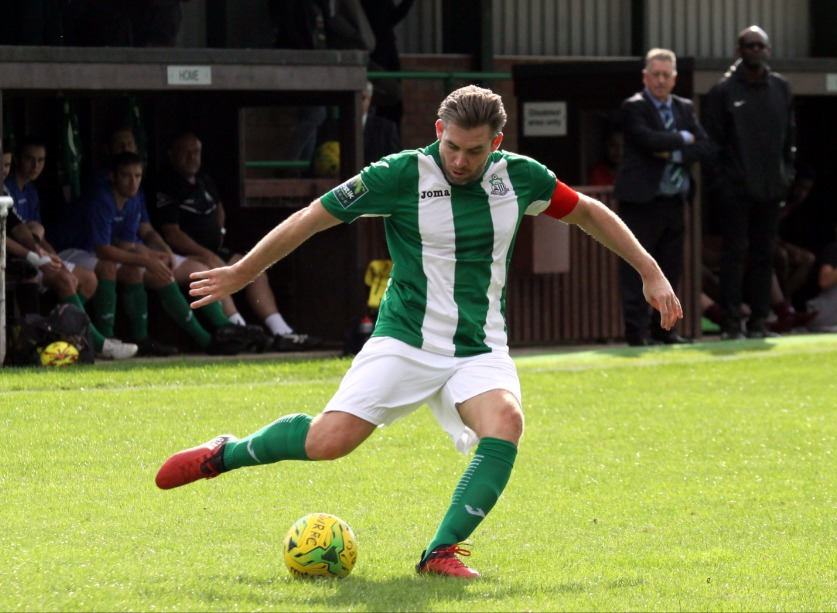 Enjoying a new role - Steve Butterworth has been appointed a player-coach at Great Wakering Rovers