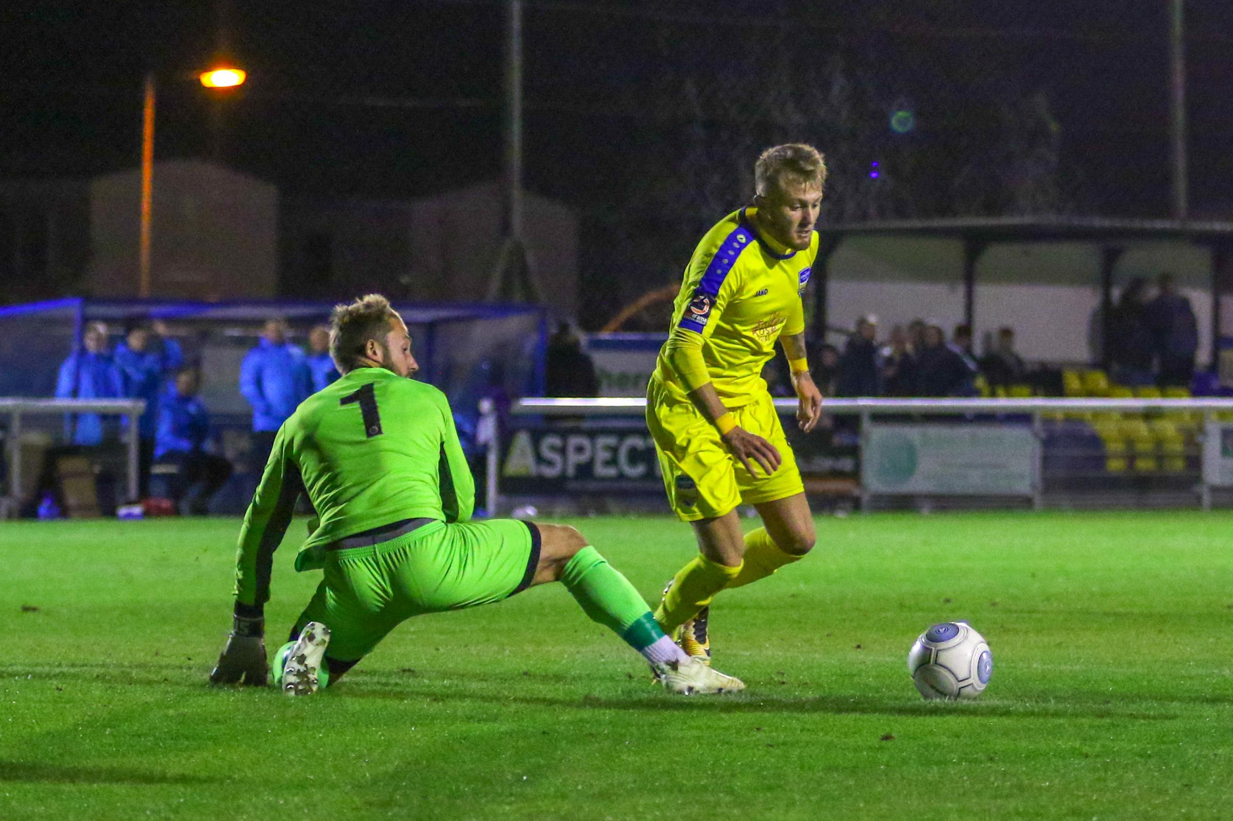 On target - Liam Nash continues to impress following his loan move from Gillingham Picture: PAUL RAFFETY