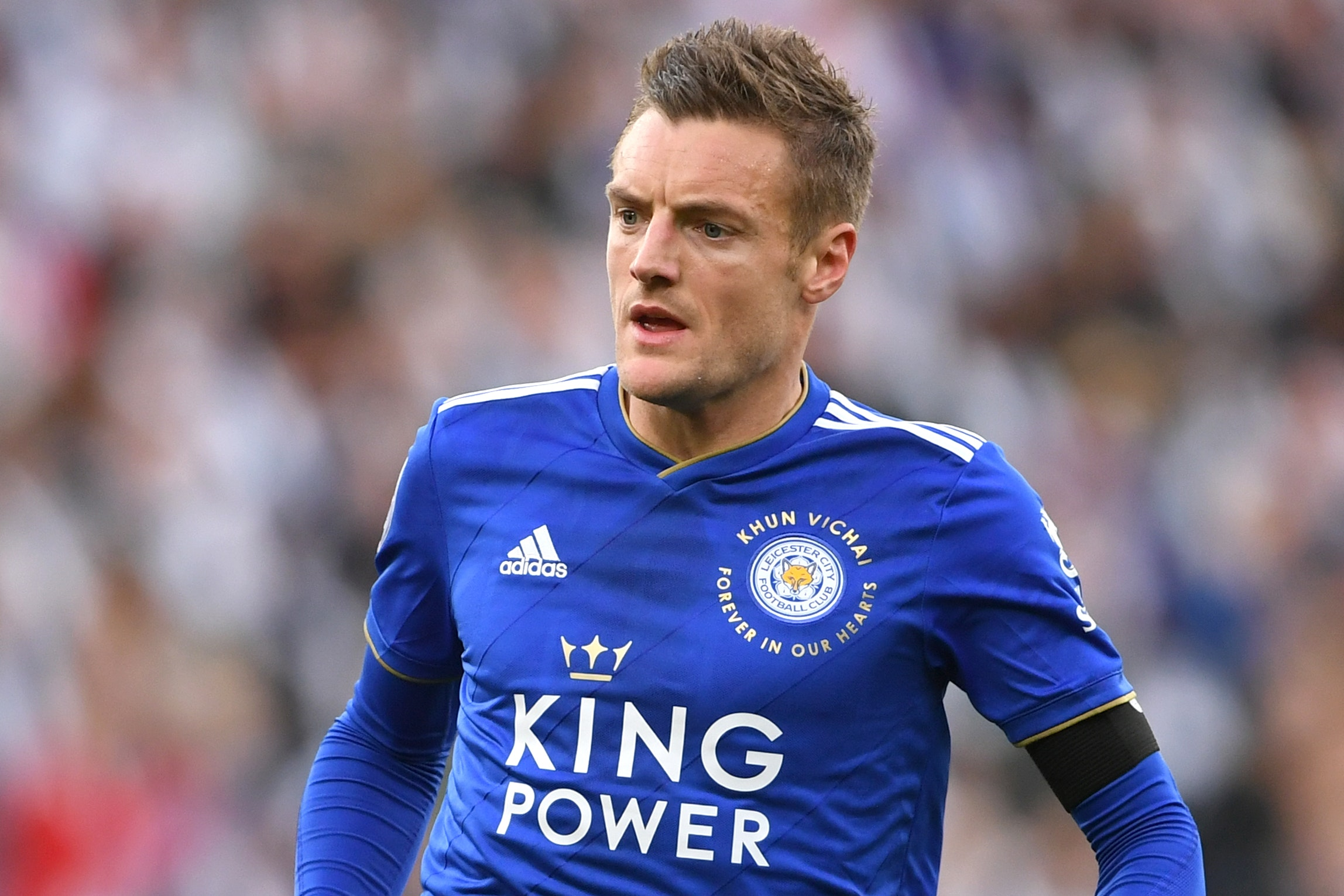 Leicester's Jamie Vardy wants to play on for a long time