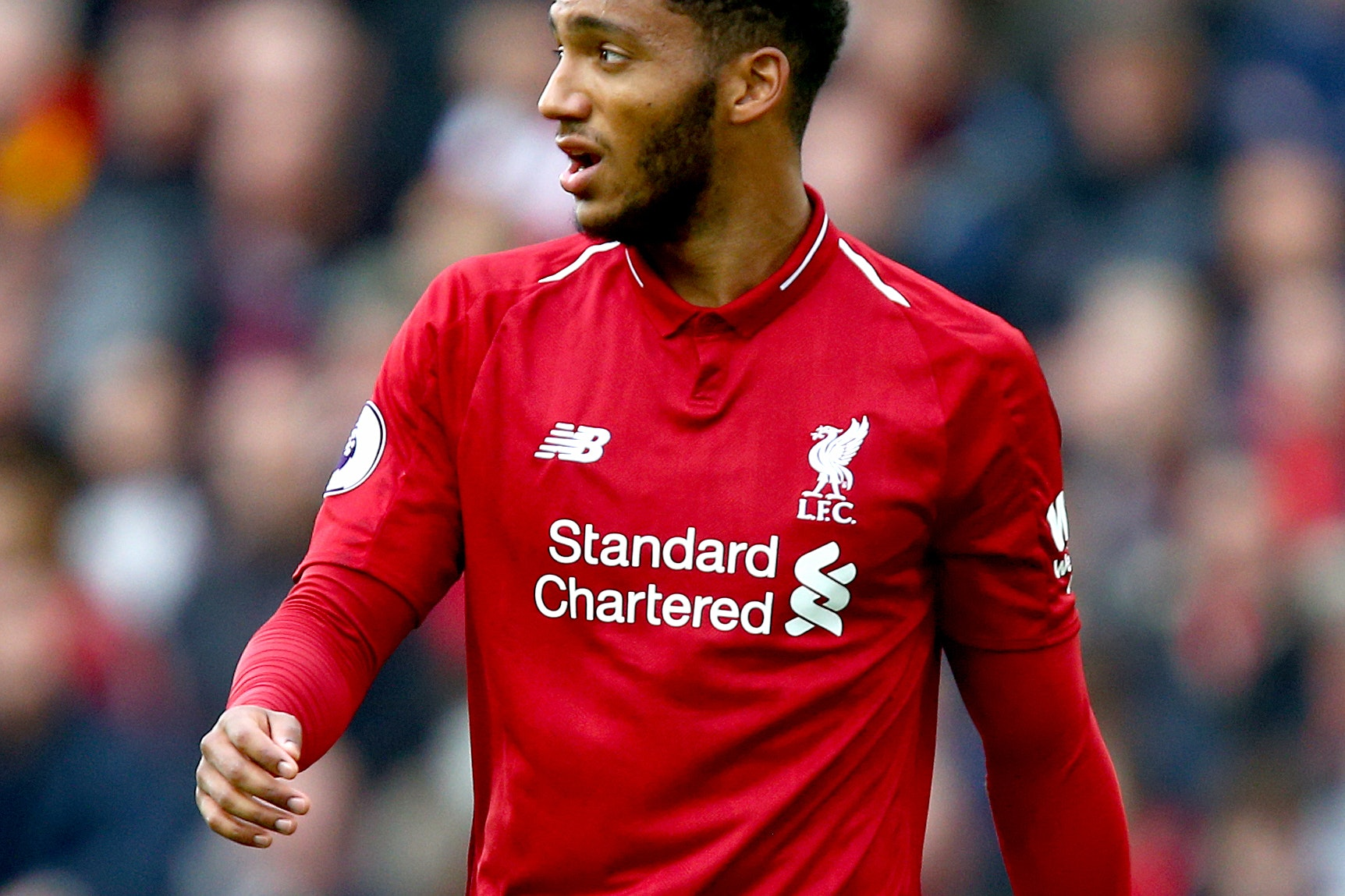 Liverpool's Joe Gomez is set for a spell on the sidelines