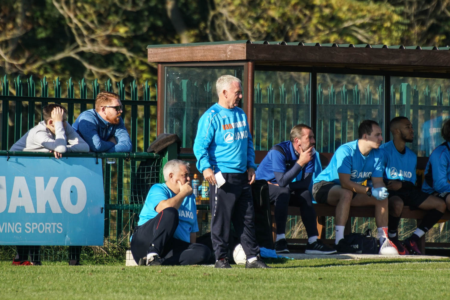 Watching on - East Thurrock United boss John Coventry Picture: MIKEY CARTWRIGHT