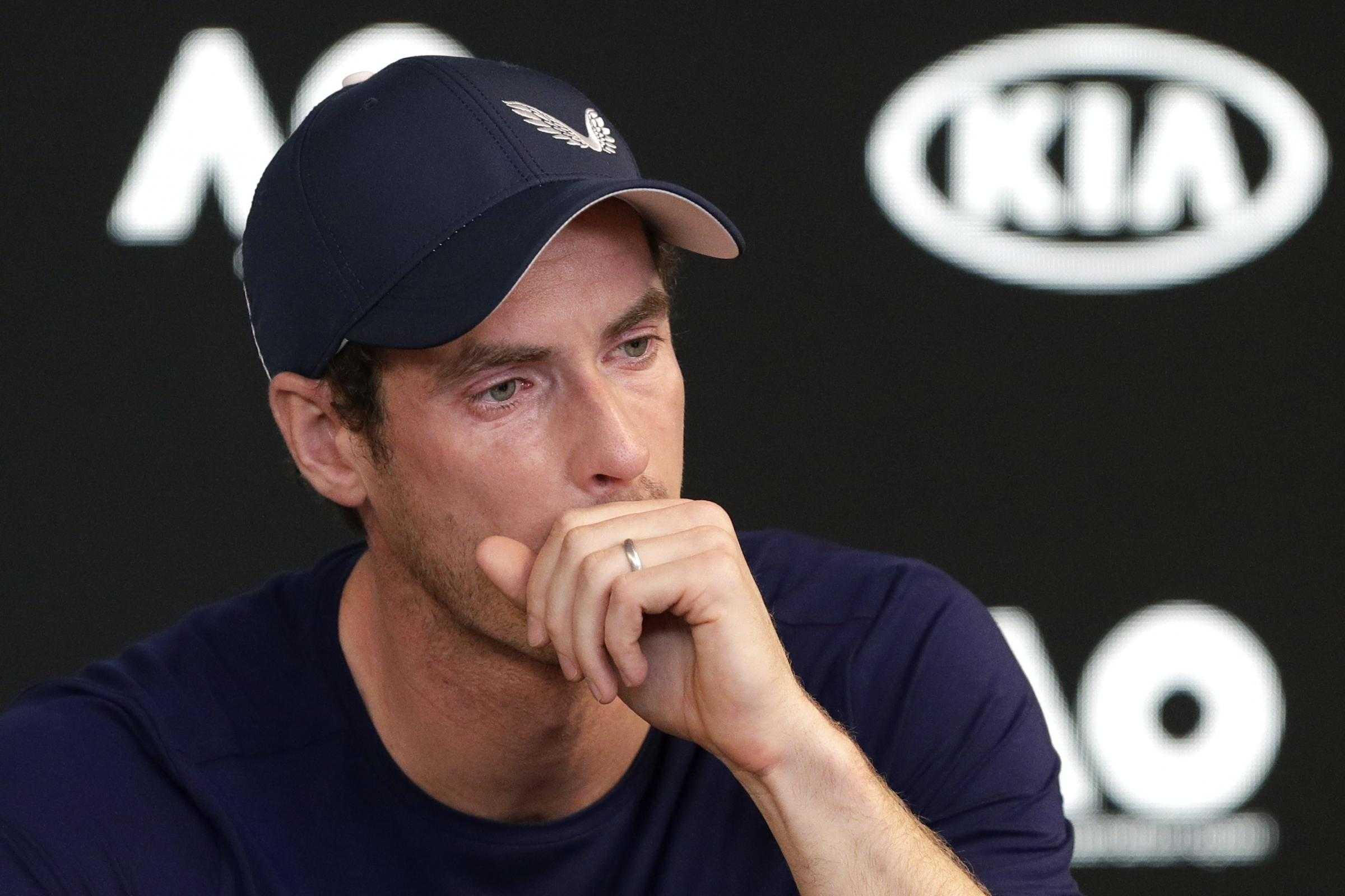 Australian Open Tennis Murray