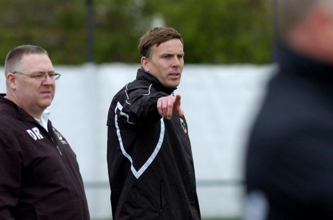 Staying upbeat - Canvey Island manager Mark Bentley