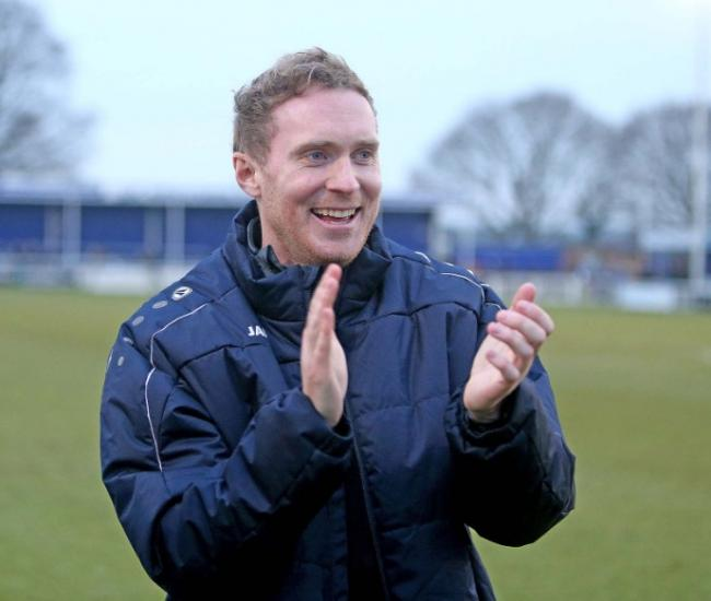 Pleased - Billericay Town boss Harry Wheeler has bolstered his squad by signing Jordan Parkes Picture: NICKY HAYES/iCORE LTD