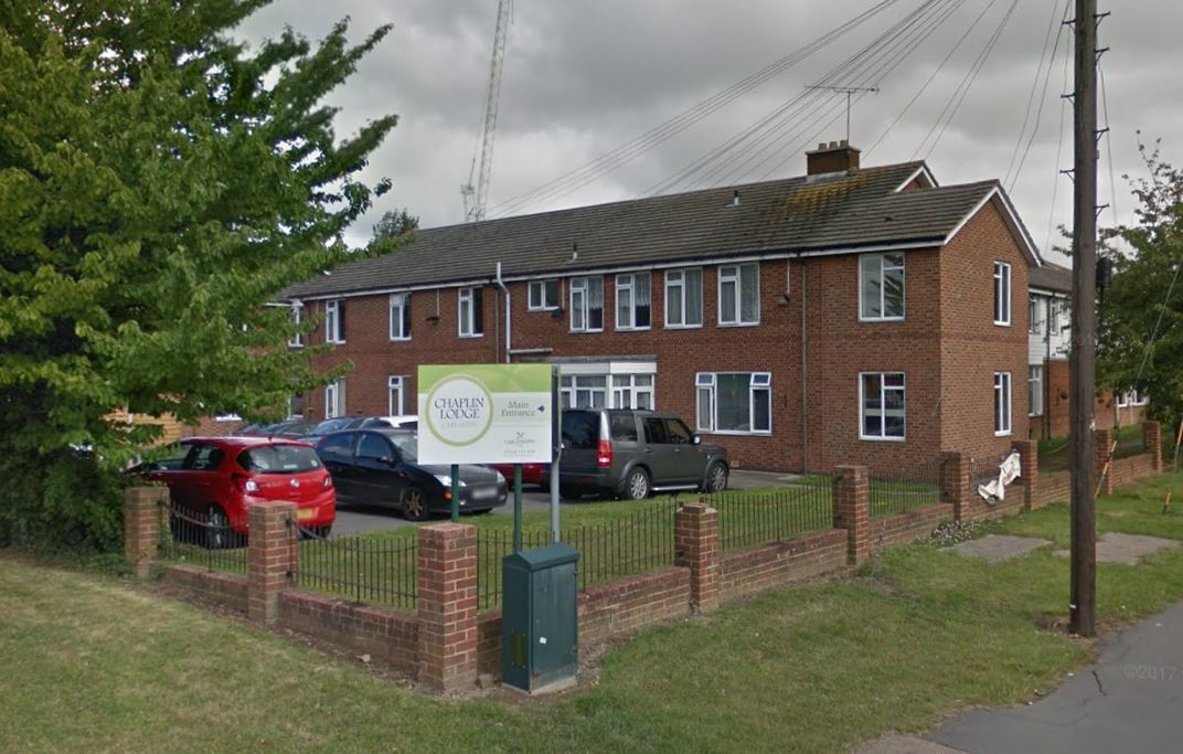 Criticised - the care home in Nevendon Road, Wickford