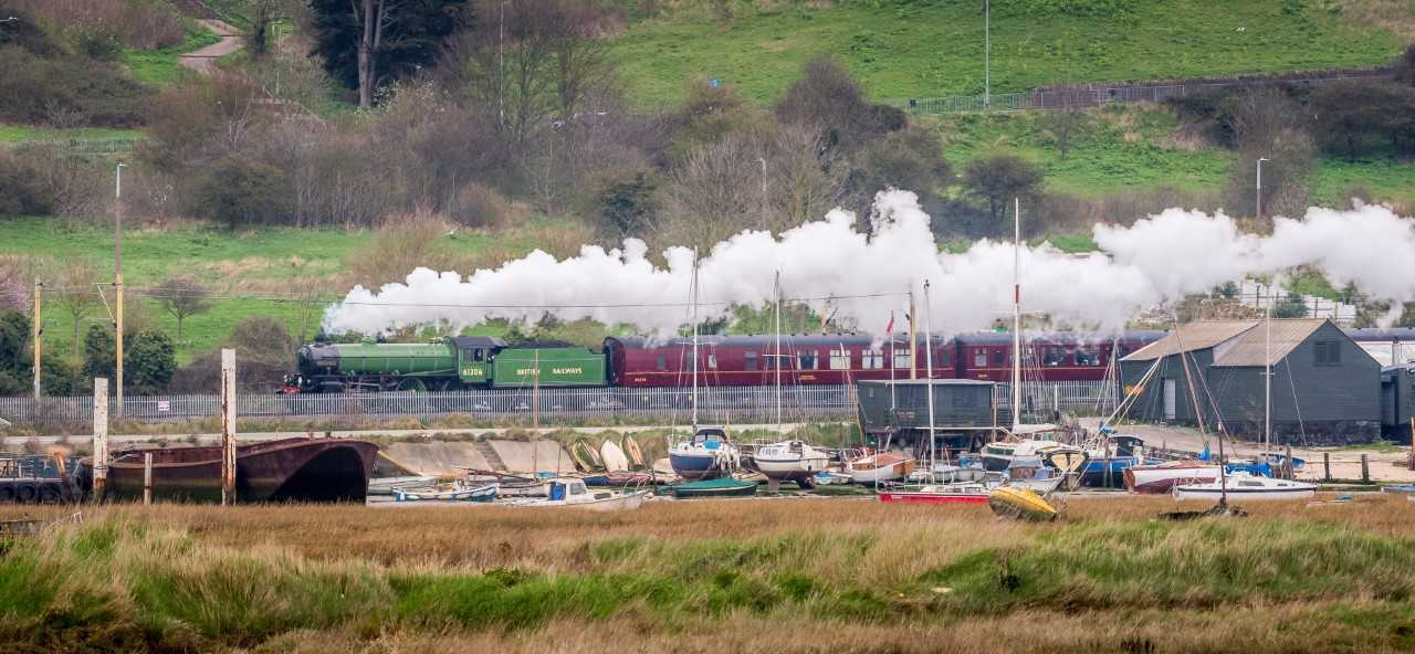Mayflower steam train (Credit: Andrew Kenyon)