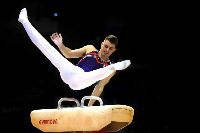 Champion - Max Whitlock has won a gold medal at the European Championships