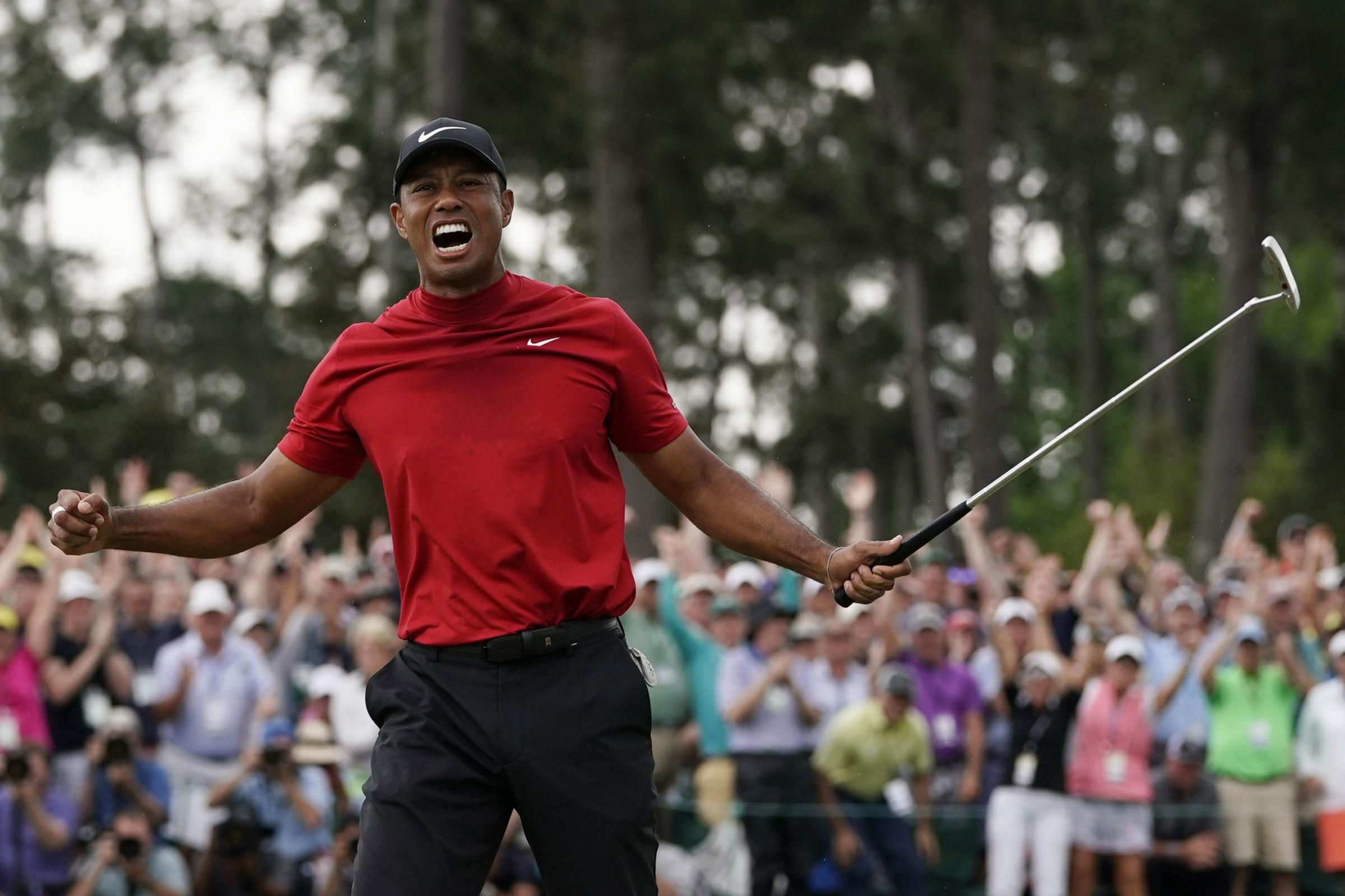 Tiger Woods has won the 2019 Masters