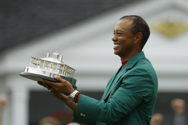 Tiger Woods won his 15th major title in the 83rd Masters