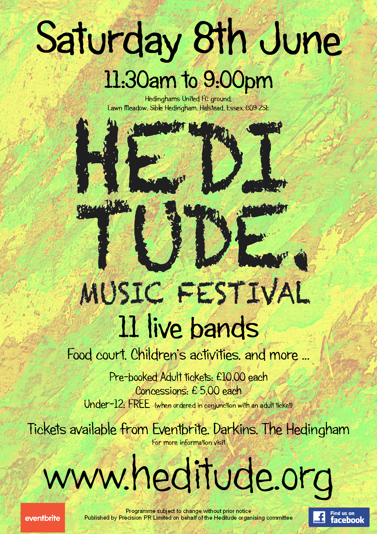 HEDITUDE Community Music Festival