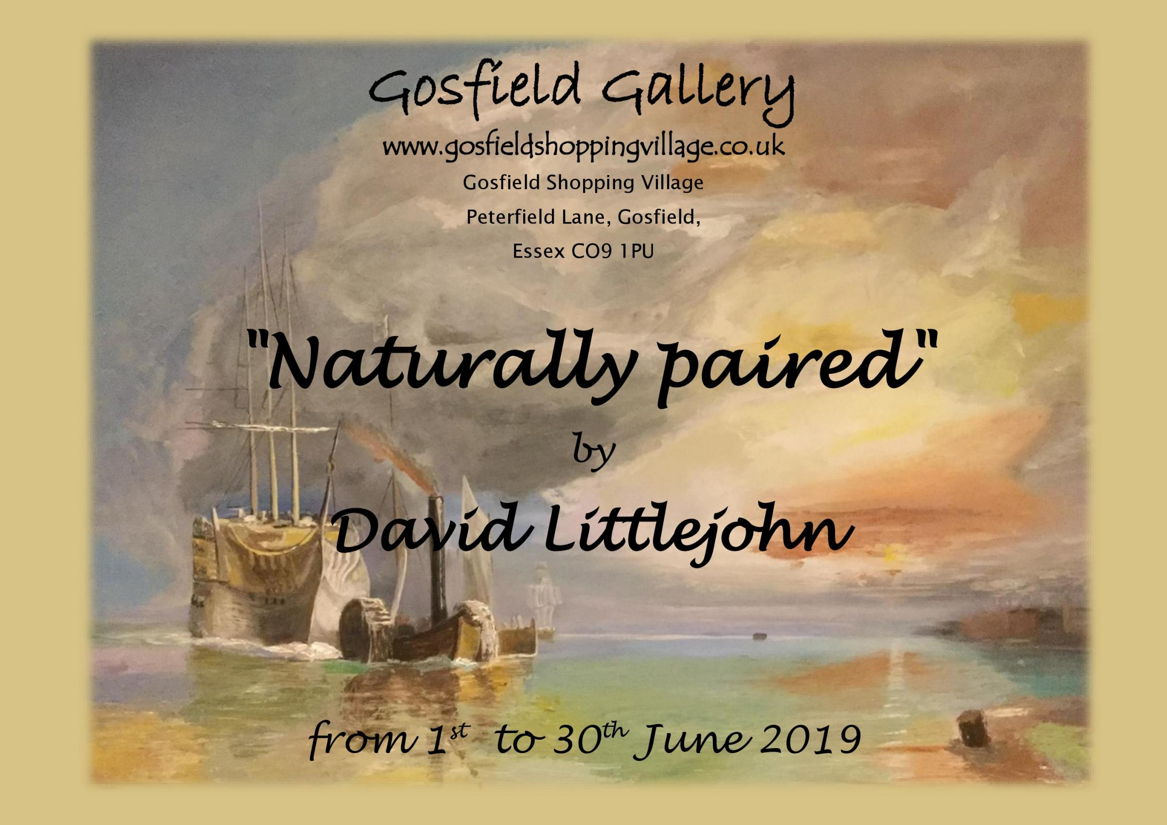 Naturally Paired by David Littlejohn