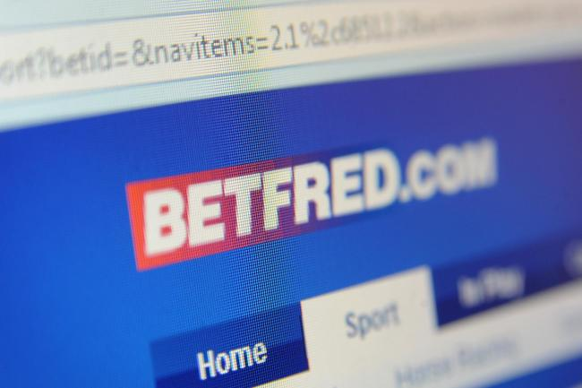 The Betfred website