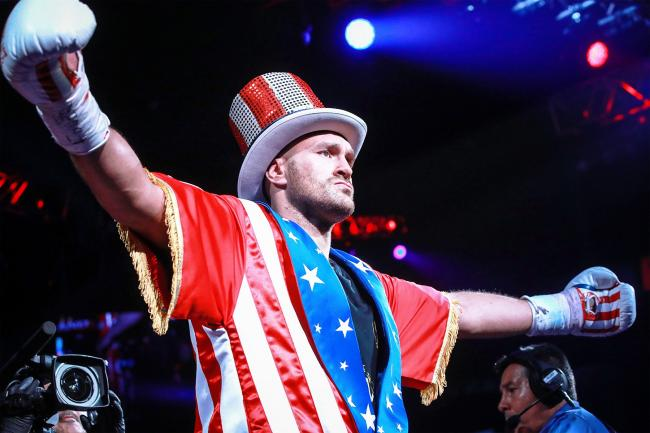 Tyson Fury is hoping to impress America again with another fight in Las Vegas this weekend